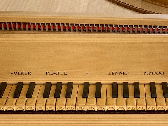 Volker Platte | Italian Baroque Harpsichords